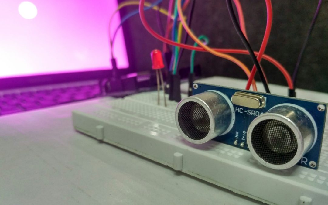 Visualising Sensor Data: Using Ultrasonic sensor